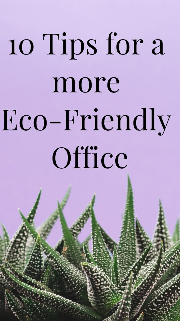 Tips for eco-friendly office