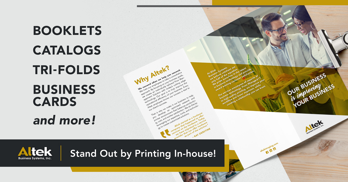 Printing in house