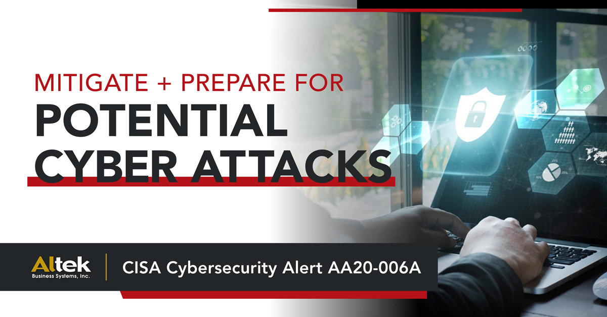 Potential Cyber Attacks
